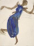 Cambodian Dancer, c.1906 Plakater af Auguste Rodin