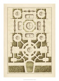 Garden Maze III Giclee Print by Jacques-francois Blondel
