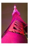 Tokyo Tower: Pink Ribbon Day I Prints by Takashi Kirita