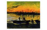 The Stevedores in Arles Giclee-trykk av Vincent van Gogh