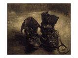 Still Life of Shoes Posters av Vincent van Gogh