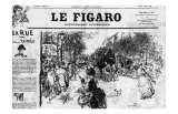 Le Figaro Prints by Vincent van Gogh