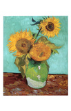 Sunflowers, First Version Pôsters por Vincent van Gogh