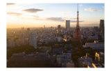 Tokyo Tower: Evening of Spring Prints by Takashi Kirita