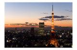 Tokyo Tower: Evening II Print by Takashi Kirita