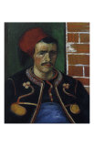 The Zouave, Bust Posters av Vincent van Gogh