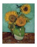 Sunflowers, First Version Affiches par Vincent van Gogh