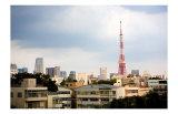 Tokyo Tower: Winter Poster by Takashi Kirita