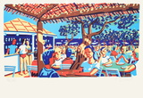 Le club 55 a Saint Tropez Limited Edition by Francois Boisrond