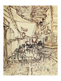 Study for the Cafe Terrace at Night Giclee Print by Vincent van Gogh
