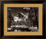 Half Dome, Rio Merced, Inverno Pôsters por Ansel Adams