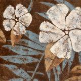 Flowers on Chocolate II Poster von Maria Donovan