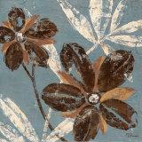 Flowers on Denim III Kunstdrucke von Maria Donovan