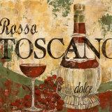 Rosso Toscano Kunstdruck von Maria Donovan