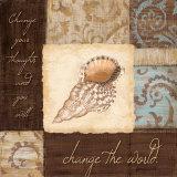 Change the World Poster di Jane Carroll