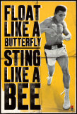 Muhammad Ali - Float like a Butterfly Print