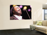 Luciano Pavarotti Wall Mural
