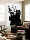 Michael Caine Wall Mural