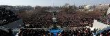 President Barack Obama Delivering His Inaugural Address, Washington DC, January 20, 2009 Fotografisk tryk