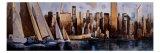 Sailing in Manhattan Pôsters por Marti Bofarull