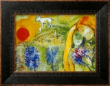 Amoureux de Vence Posters by Marc Chagall