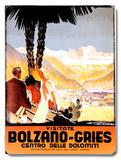 Visitate Bolzano-Gries Placa de madeira