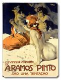 A.Ramos Pinto Placa de madeira