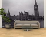 Parliament, Big Ben, London, England, United Kingdom Mural (grande)