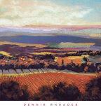 Tuscan Sunrise Print by Dennis Rhoades