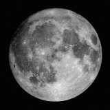 Fuldmåne Fotografisk tryk af Stocktrek Images,