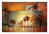Tropical Realm II Arte por Sandy Clark