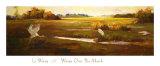 Wings over the Marsh Prints by Li Wang