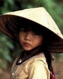 Portrait of a Vietnamese Girl Art by Keren Su