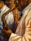 Senso Jazz Prints by Miles Hyman
