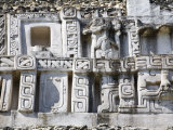 Frieze, 130Ft High El Castillo, Xunantunich Ruins, San Ignacio, Belize Photographic Print by Jane Sweeney