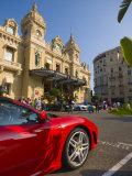 Grand Casino, Monte Carlo, Monaco Fotografie-Druck von Alan Copson