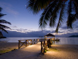 Luxury Resort, Malolo Island, Mamanuca Group, Fiji Photographic Print by Michele Falzone