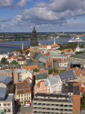 City Skyline, Riga, Latvia Photographic Print by Doug Pearson