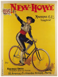 Cycles News Howe Giclee Print by  PAL (Jean de Paleologue)