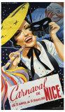 Carnaval de Nice Giclée-Druck von Emmanuel Gaillard