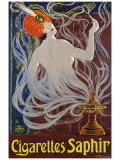 Cigarettes Saphir Giclee Print by  Stephano