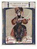 Comoedia Illustre: Les Ballets Russes, c.1910 Giclée-vedos tekijänä Leon Bakst