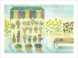 Flower Shop, Always on Your Side Giclee Print by Miyuki Hasekura