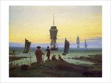 The Stages of Life Gicléedruk van Caspar David Friedrich