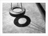 Tire Swing Giclee Print by Stephen Lebovits