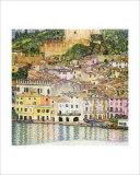 Malcesine on Lake Garda Impressão giclée por Gustav Klimt