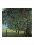 Fruit Trees Giclée-tryk af Gustav Klimt