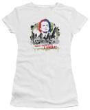 Juniors: Taxi - Smiling Jim T-shirts