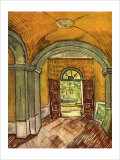Lobby in the Asylum Giclee Print by Vincent van Gogh