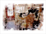 Branch Table, Santa Monica, California Giclee Print by Nicolas Hugo